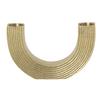 Arch Brass Candle Holder