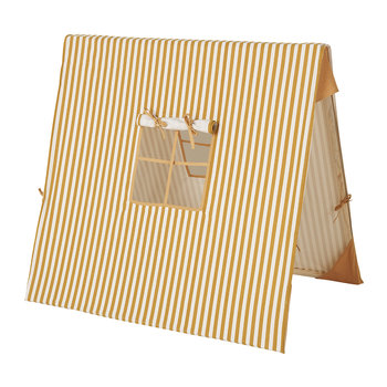 Thin Striped Tent - Mustard