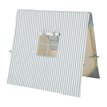 Thin Striped Tent - Blue