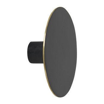Black Brass Wall Hook