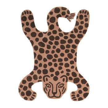 Leopard Safari Tufted Rug