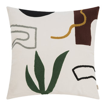 Hand Woven Mirage Cushion - 50x50cm - Cacti