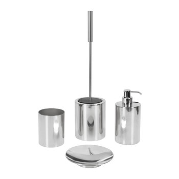 Polished Chrome Toothbrush Holder