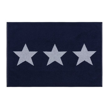 Star Bath Mat - Navy