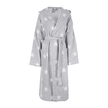 Grey Star Bathrobe