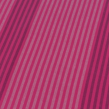 Striped Beach Towel - Pink