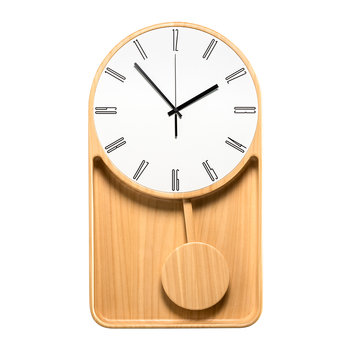 Mastrociliegia Wall Clock - Natural Ayus
