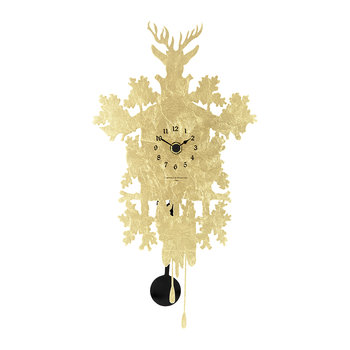 Mignon Cucù Clock - Gold Leaf