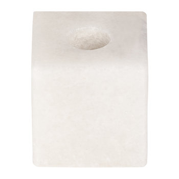Marble Candle Block - White