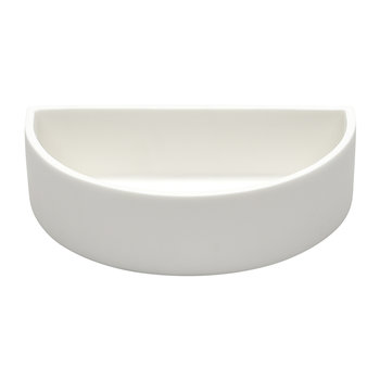 Demi Lune Bowl - White