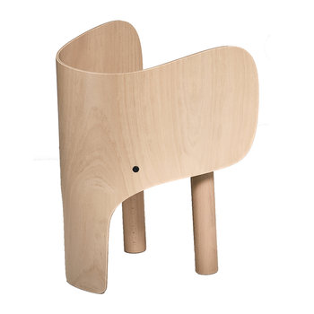 Wooden Elephant Chair