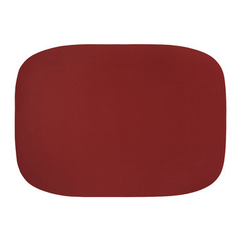 Vegan Leather Placemat - Cherry
