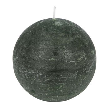 Rustic Spherical Candle - Olive