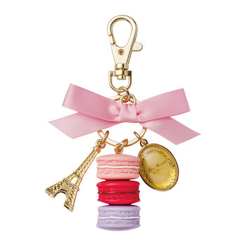 Macarons Keyring - Medium - Rose