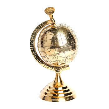 Brass Globe Ornament