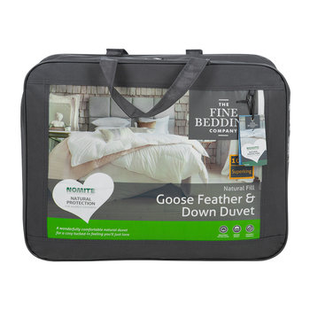 Goose Feather and Down Duvet - 10.5 Tog