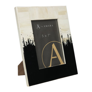 Lacquered Dip Dye Photo Frame - 5x7""