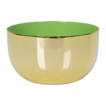 Carousel Bowl - Gold/Green