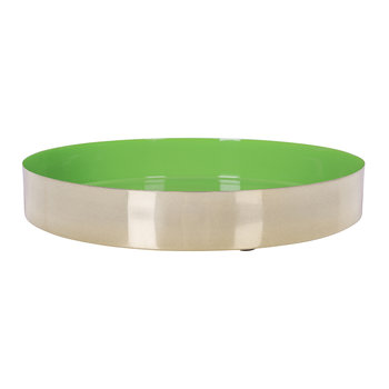 Carousel Tray - Gold/Green