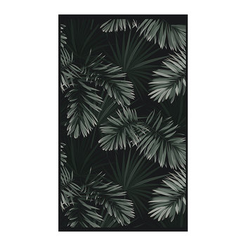 Terre Palm Vinyl Floor Mat - Green