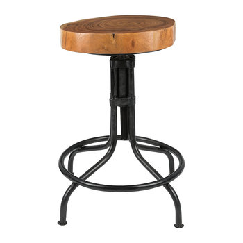 Tree Slice Stool - Curved Legs