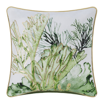 Coral Pillow - Green - 45x45cm
