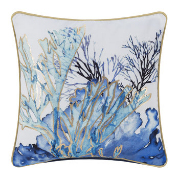 Coral Pillow - Blue - 45x45cm