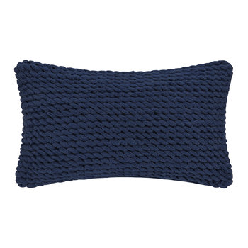 Rope Pillow - Blue - 30x50cm