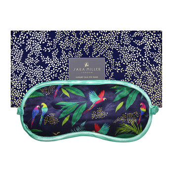 Silk Eye Mask - Parrot