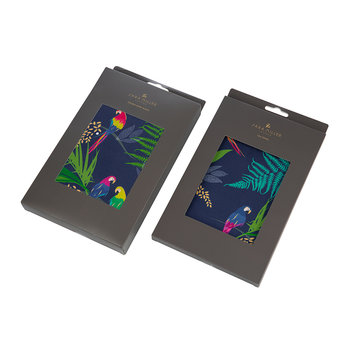 Tea Towel and Oven Mitt Set - Parrot