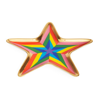 Technicolor Trinket Tray - Star