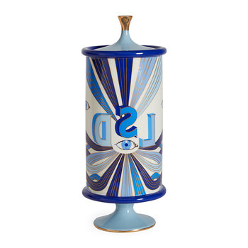 Druggist LSD Canister - Large - Multi Blue