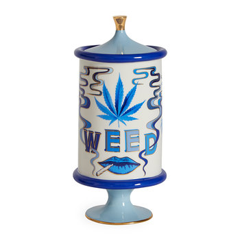 Druggist Canister - Small - Multi Blue - Weed