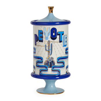 Druggist Canister - Small - Multi Blue - Peyote