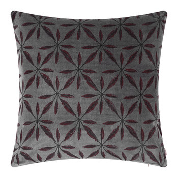 Jade Flower Cushion - 45x45cm - Amethyst