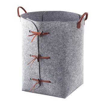 Resa Laundry Basket - Grey