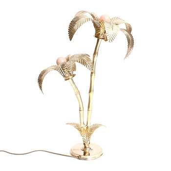 Palm Tree Lamp - Brass