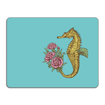 Puddin' Head - Animal Table Mat - Seahorse