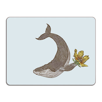 Puddin' Head - Animal Table Mat - Whale