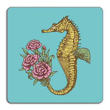 Puddin' Head - Animaux Placemat - Seahorse