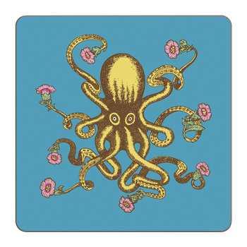 Puddin' Head - Animaux Placemat - Octopus