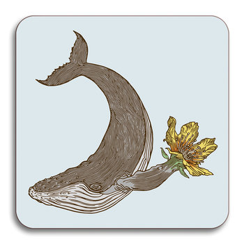 Puddin' Head - Animaux Coaster - Whale