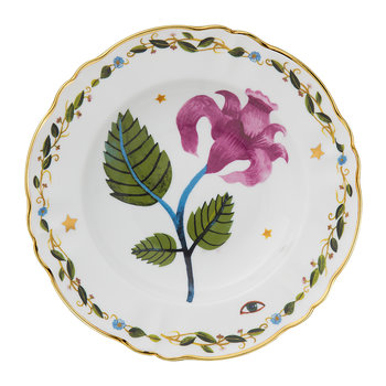 Funky Table - La Tavola Scomposta - Pink Flower Plate