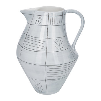 Elowen Ceramic Pitcher - Short