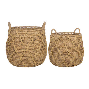 Hanoi Woven Baskets - Set of 2