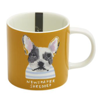 Mischievous Mutts Cuppa Mug - Gold Dog