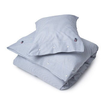 Pinpoint Duvet Cover - Navy/White