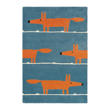 Tapis Mr. Fox - Denim
