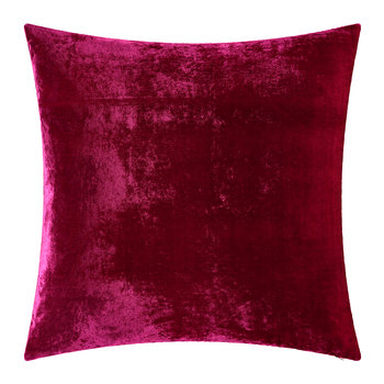 Paddy Velvet Cushion - 50x50cm - Fuchsia