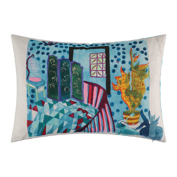 Screened Cushion - 60x40cm